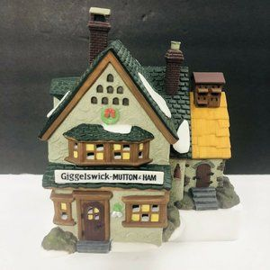 DEPT 56 Dickens' Village GIGGELSWICK House